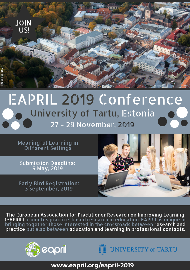 Flyer EAPRIL2019 Conference